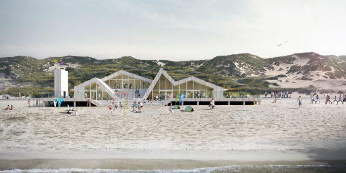 Neubau eines Strandpavillons in Schagen