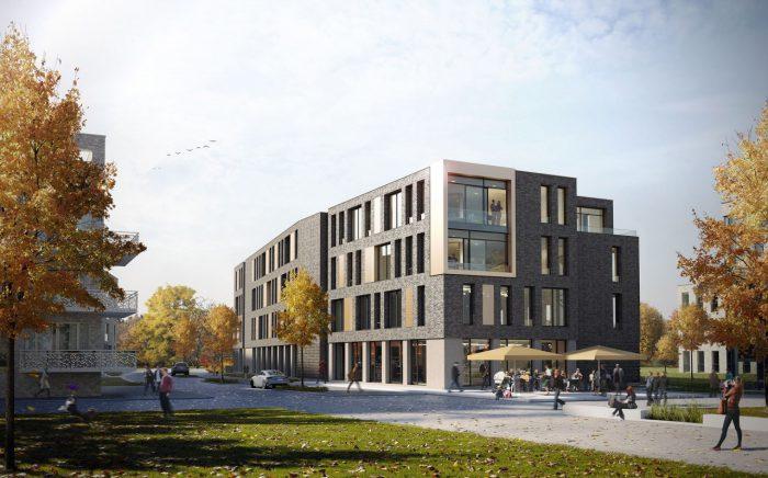 """Geschäftshaus """"Hunteplatz"""", Oldenburg"""