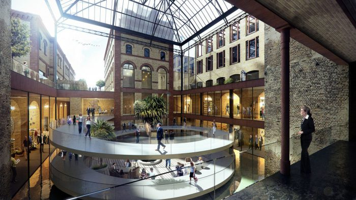 Revitalisierung der alten Bötzow Brauerei