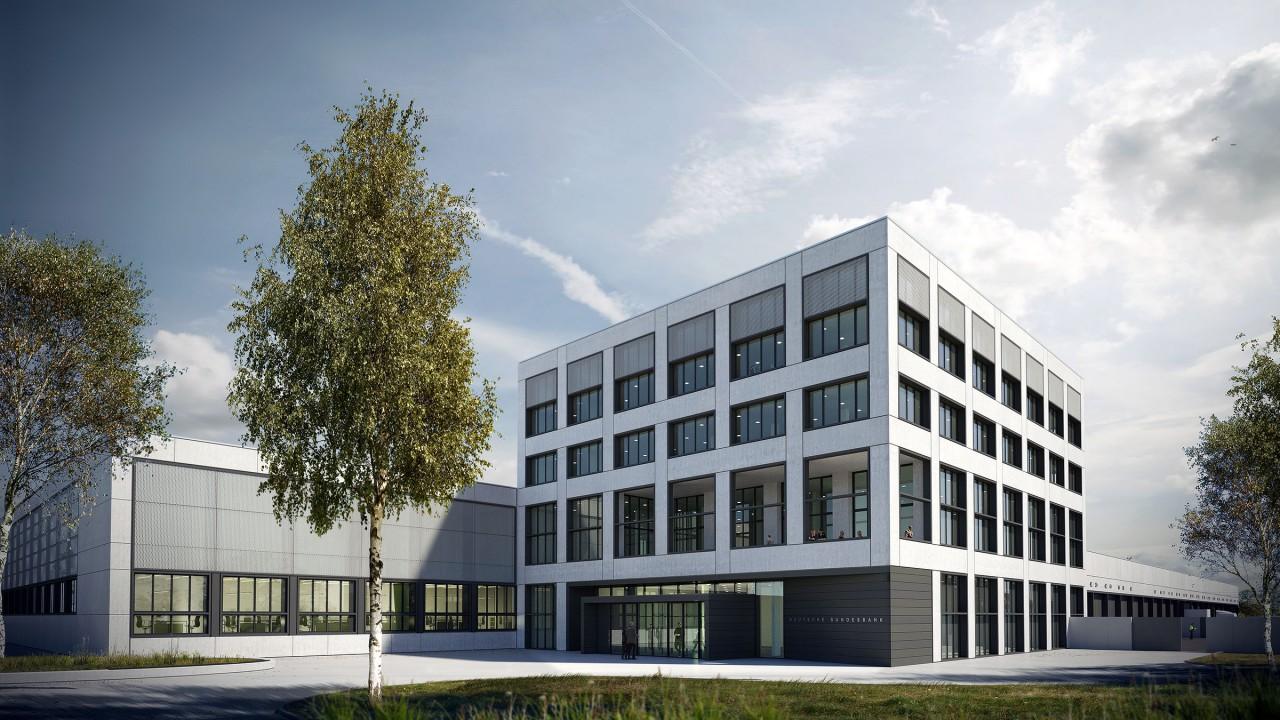 Neubau Bundesbank in Dortmund