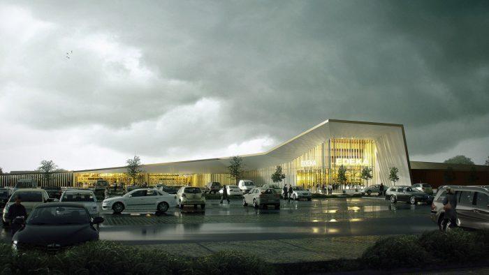 Neubau EDEKA Supermarkt