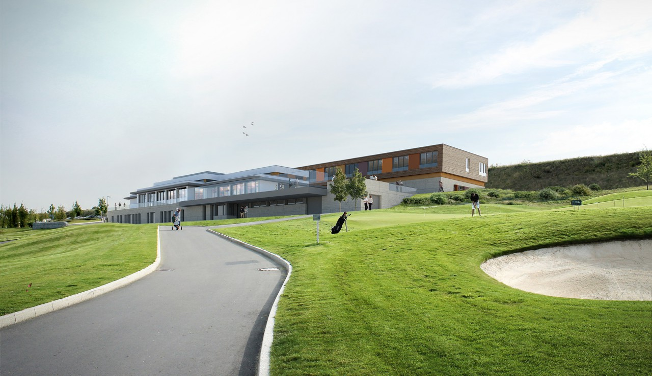 Neubau eines Golfclubs in Köln
