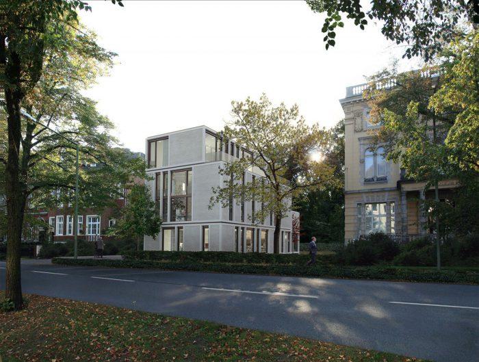 HTW, Neubau Bürogebäude