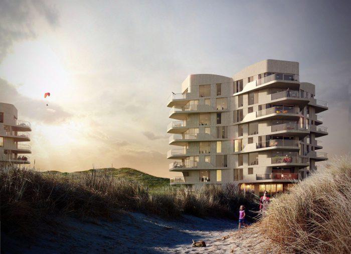 Neubau von Ferienwohnungen, Petten