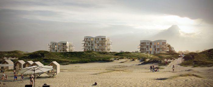 Neubau Petten, Küstzone Noord Holland, NL