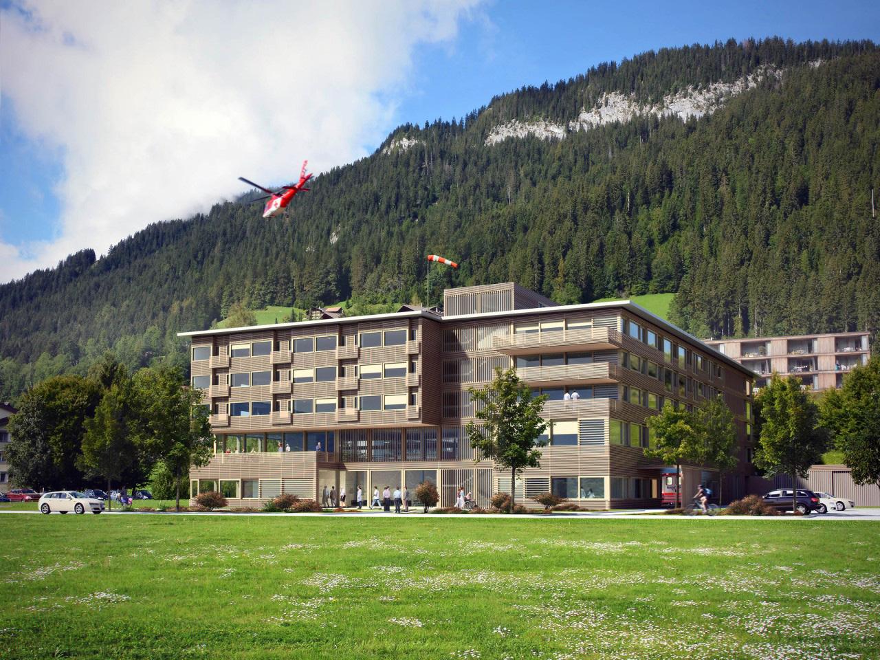 Wettbewerb Neubau Spital Zweisimmen