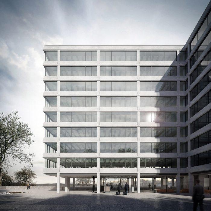 Wettbewerb Gesamtsanierung Taubenhalde, Bern