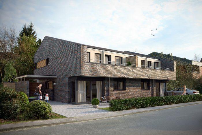 Neubau Doppelhaus für die MR Wohnungsbau