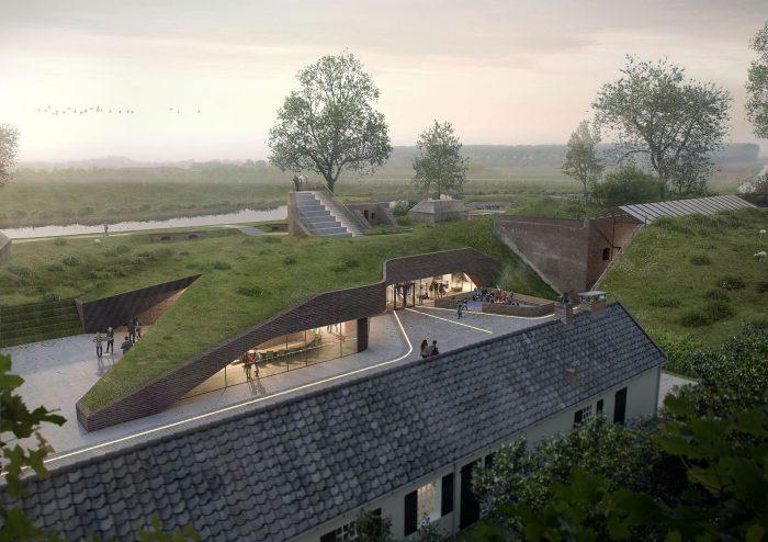 Neubau Besucherzentrum Museum GeoFort