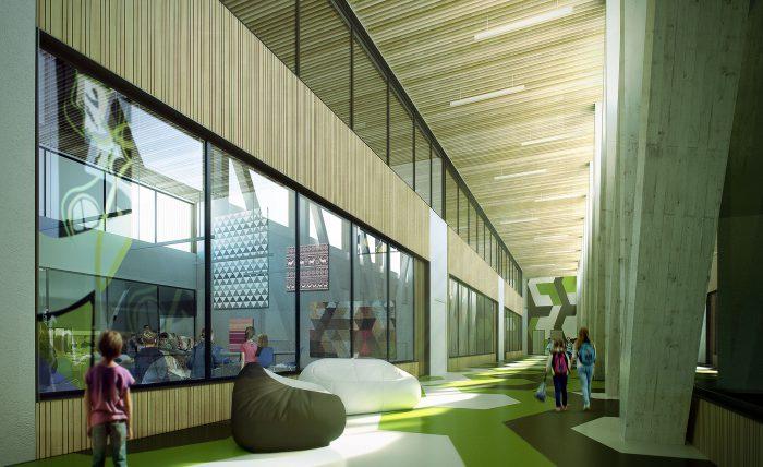 Neubau einer Grundschule in Ås, Norwegen