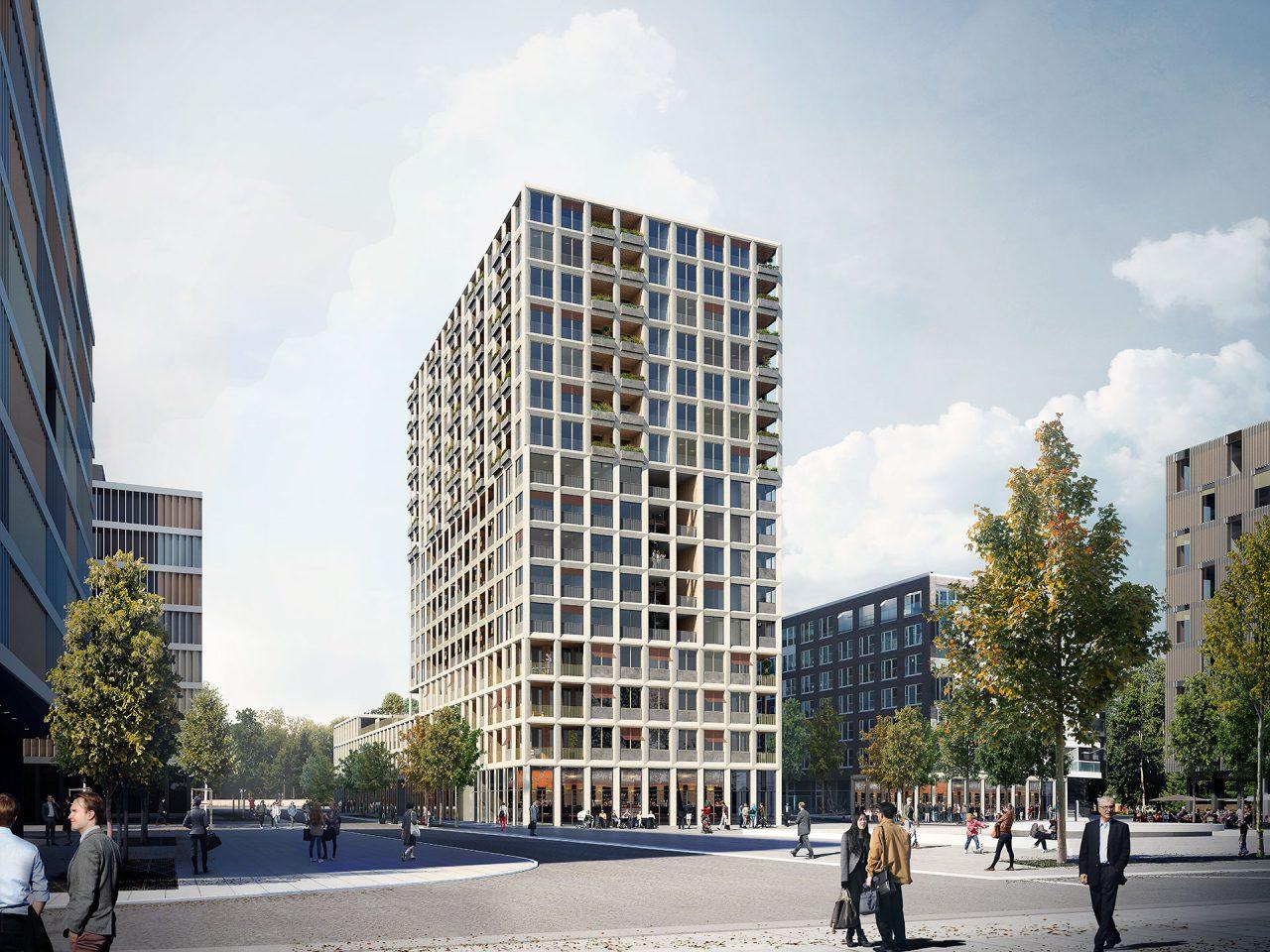 Neues Quartier für Bern, Wankdorf City