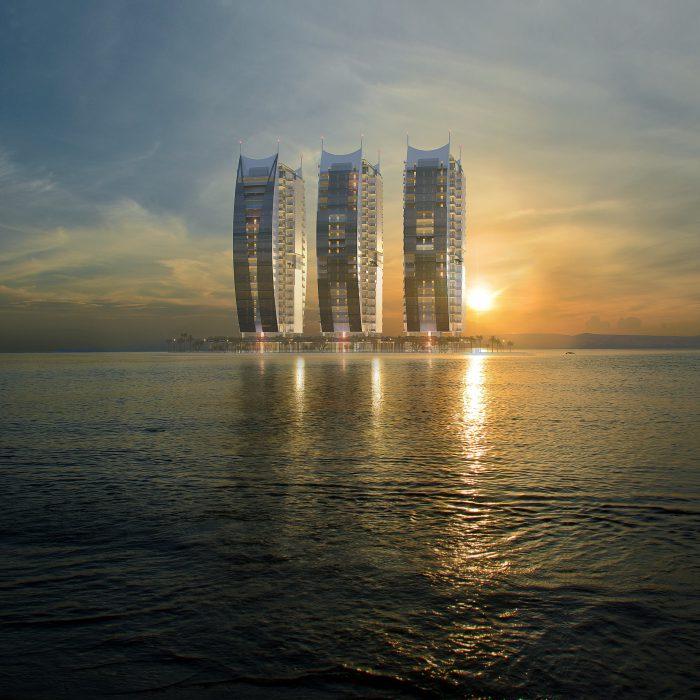 Draft of Damac Residential Towers