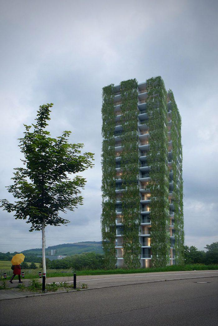 Hochhaus auf der Korber Höhe: Schöner als der Gewa-Tower