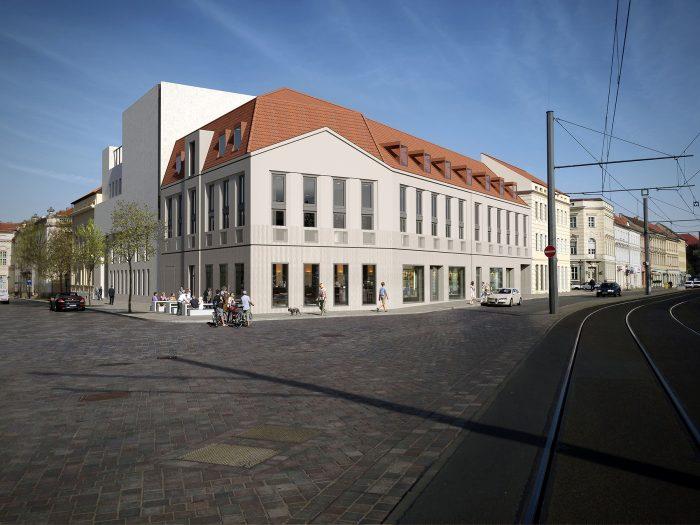 Das Musikerhauses Potsdam in der Schwertfeger Straße 9 bekommt einen Nachbarn – Das Haus Einsiedel in der Friedrich-Ebert-Straße 123/Schloßstraße 1