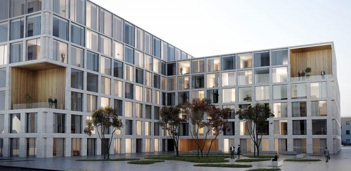 Neubau Hotel in Glattbrugg