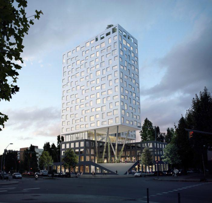 Neubau eines Towers in Barcelona für Stahler Development