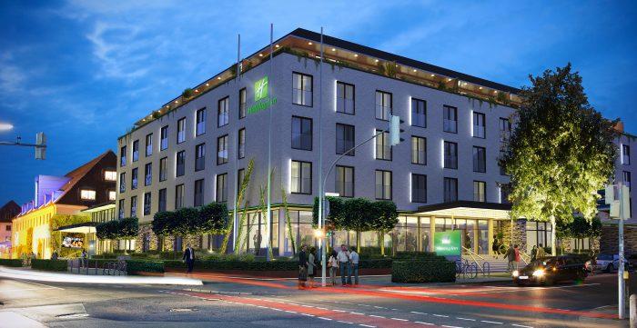 Osnabrück bekommt Vier-Sterne-Holiday Inn mit 158 Zimmern