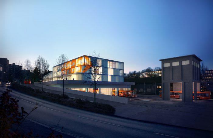 """Projektwettbewerb """"Neubau Buszentrum RBS und Unterstation BKW Ittigen"""""""