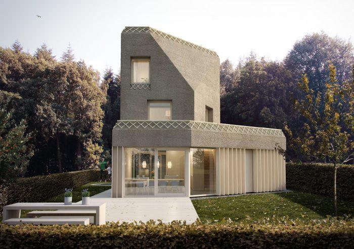 Nieuwbouw woonhuis Lichtenberg