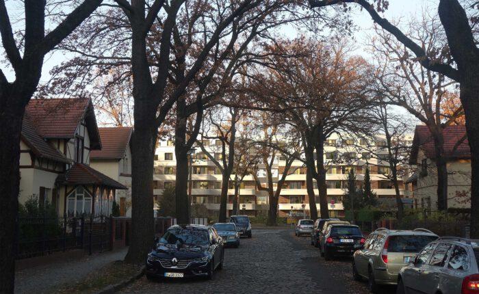"""Neubau einer Mehrfamilienhaus-Wohnanlage """" Wandlitzstraße Kaisergärten """" im Ortsteil Karlshorst in Berlin, Deutschland"""