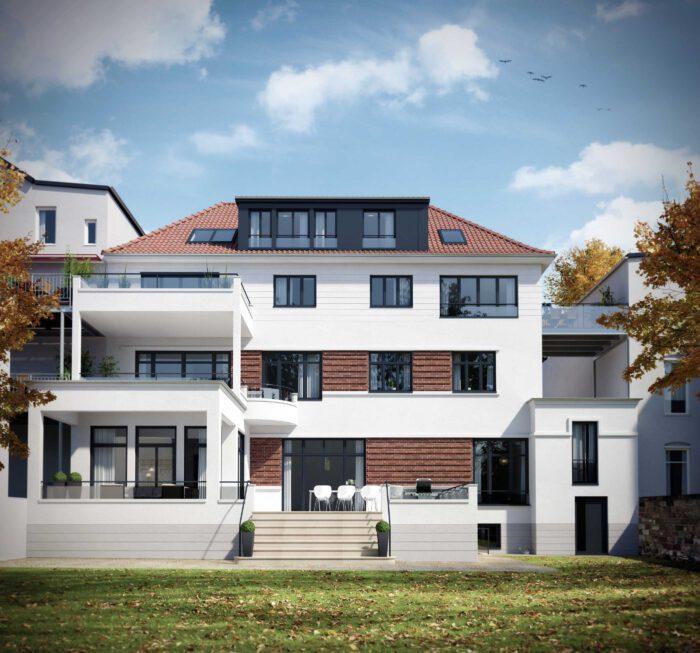 Renovierung einer Villa in Osnabrück